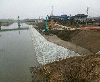 中川護岸工事